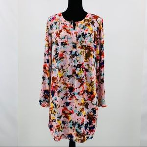 A.N.A Long Sleeve Shirt Dress